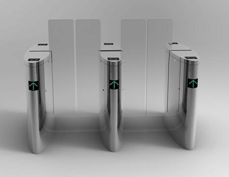 Pintu Otomatis Flap Barrier 11